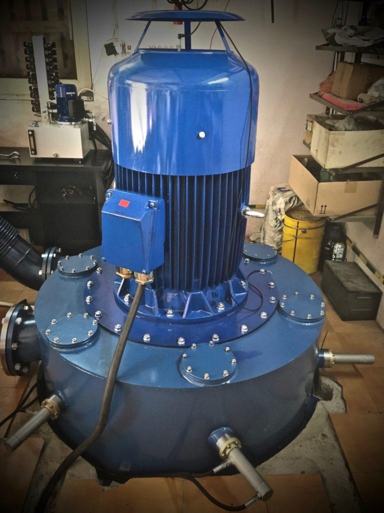 Turbina Peltona 1 - Hydro Energy s.c.