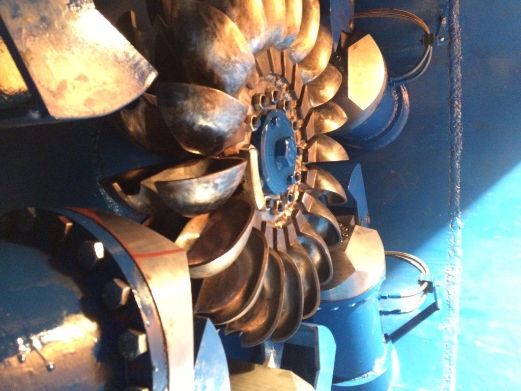 Turbina Peltona 3 - Hydro Energy s.c.
