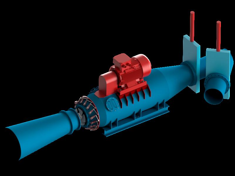 Turbina Kaplana 7 - Hydro Energy s.c.