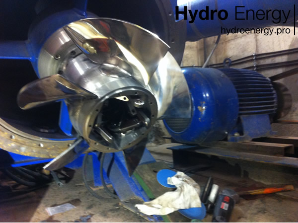 Turbina Kaplana 5 - Hydro Energy s.c.