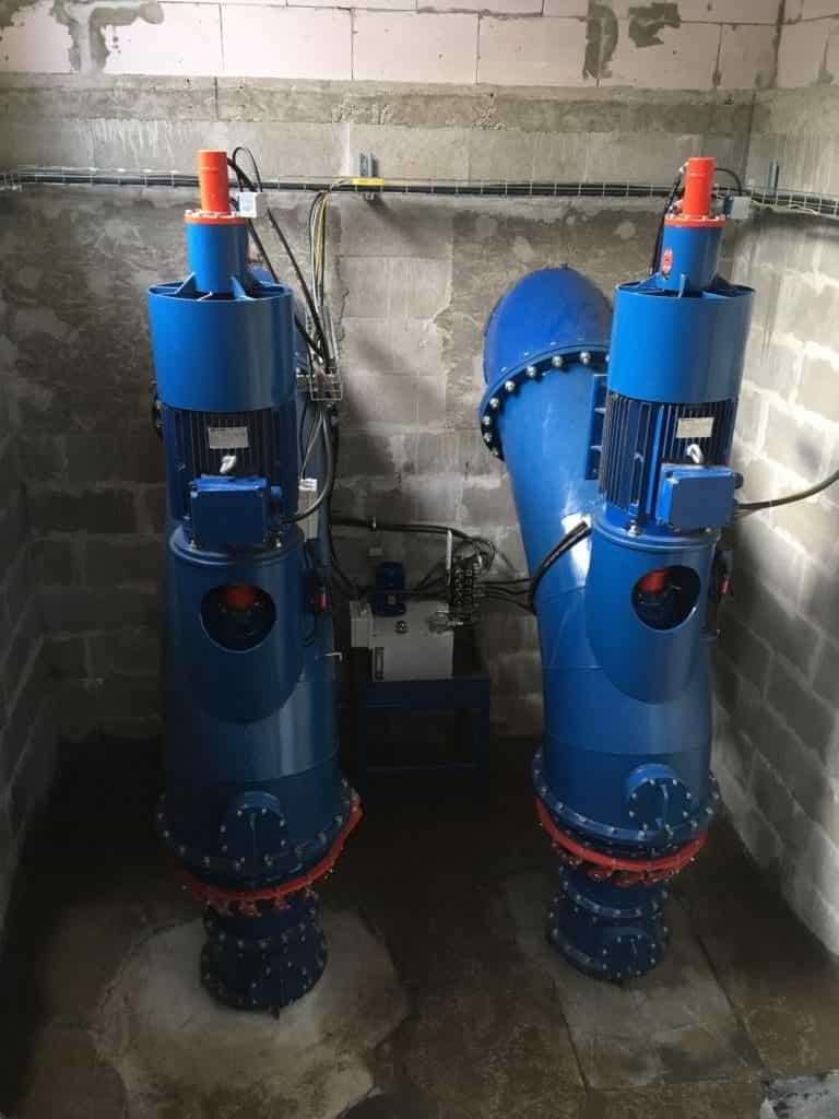 Kaplanská turbína 4-Hydro Energy S.C.
