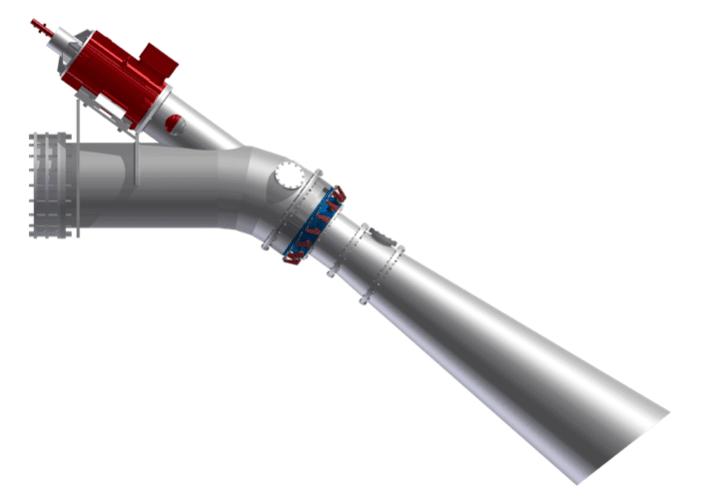 Trubkový Kaplan-kuželová turbína-Hydro Energy S.C.