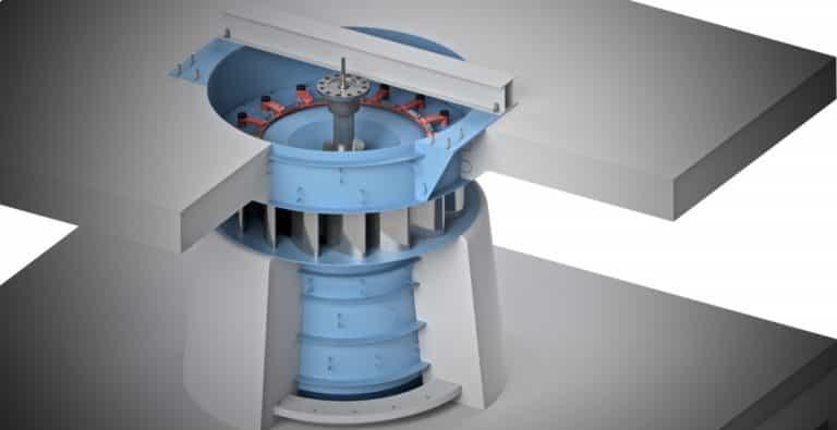 Kaplanské turbíny-Hydro Energy S.C.